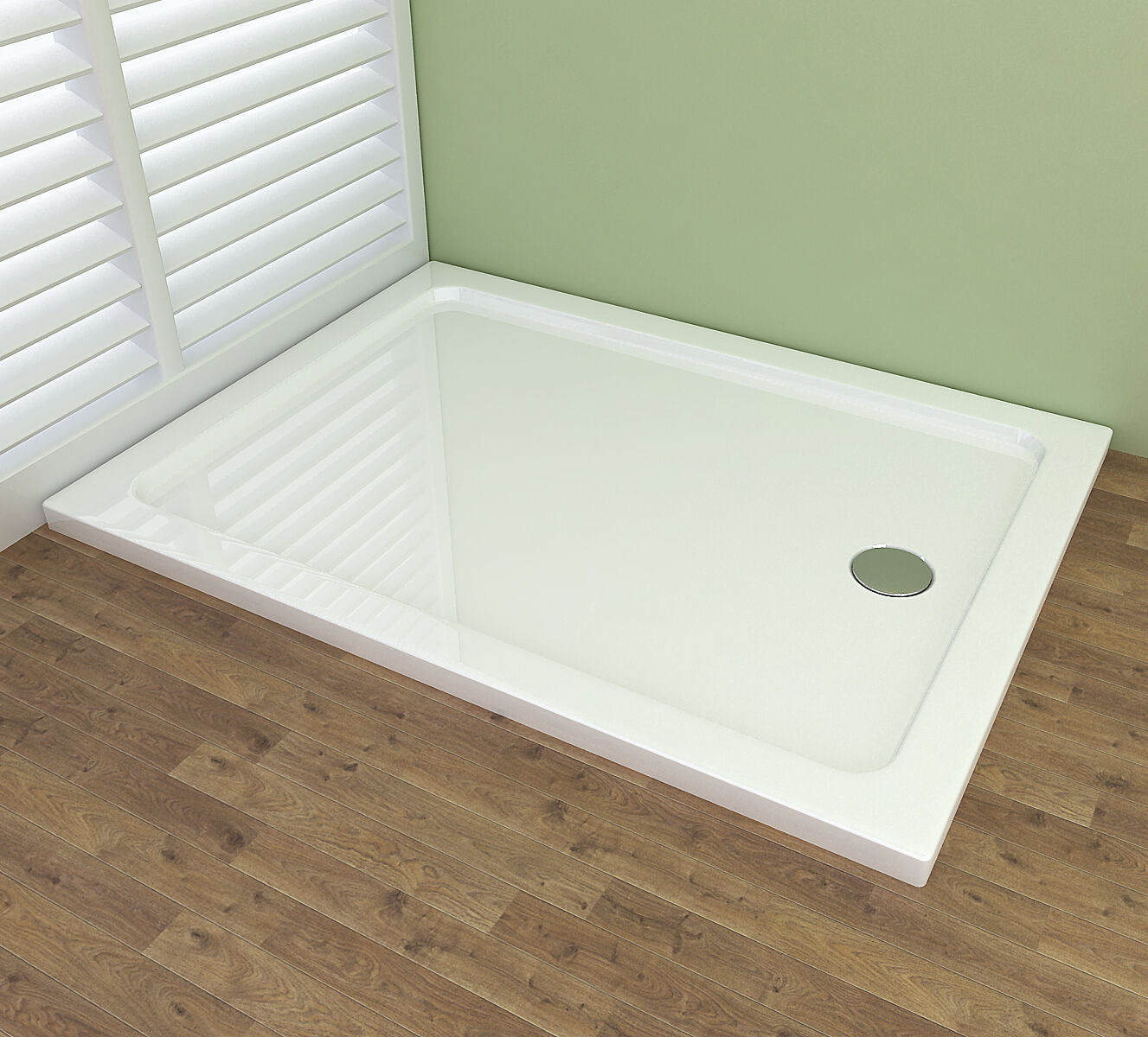 duschwanne acryl duschtasse dusche acrylwanne 40mm flach. Black Bedroom Furniture Sets. Home Design Ideas