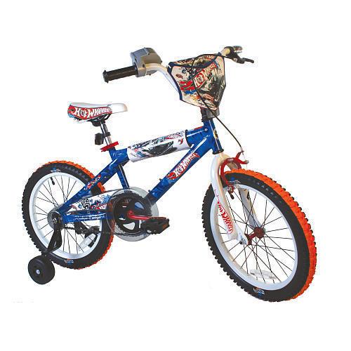 Dynacraft 18 inch Bike Boys Hot Wheels