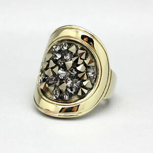 Dyrberg-Kern-Ring-DEANNA-IV-SG-Grey-with-Swarovski-Elements-crystal-89-Gr-4