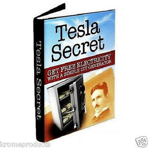Tesla Secret - Nikola Generator Coil Blueprints * FREE ENERGY & POWER ...