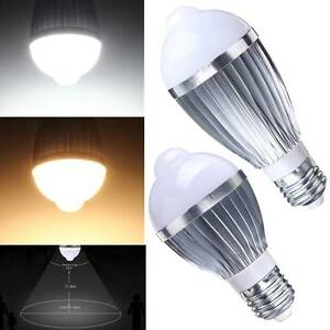 e27 5w 7w led infrarot lampe gl hbirne leuchte mit bewegungsmelder pir sensor ebay. Black Bedroom Furniture Sets. Home Design Ideas