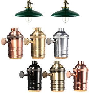 e27 e26 lampenfassung sockel fassung socket vintage lampe halter pendelleuchte. Black Bedroom Furniture Sets. Home Design Ideas