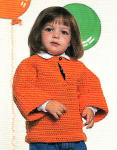CHILD CROCHET SWEATER PATTERN « CROCHET PATTERNS