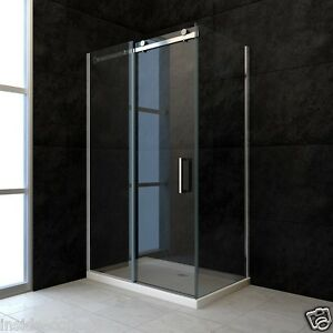 echtglas rahmenlose nischentr dusche duschkabine duschabtrennung und - Dusche Nischentur 60
