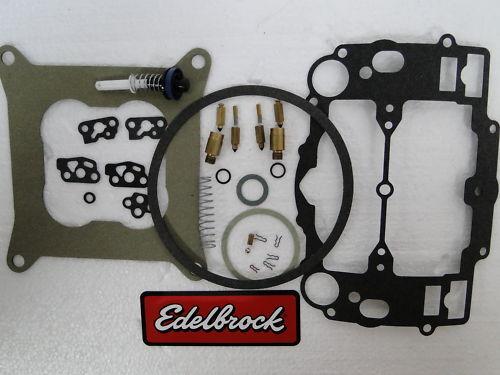 edelbrock carburetor rebuild kit 1477 instructions