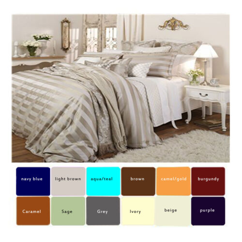 EGYPTIAN QUALITY 1600 TC BED SHEET SET DEEP POCKET 4 PIECE 12 COLORS ALL SIZE in Home & Garden, Bedding, Sheets & Pillowcases | eBay