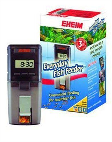 Eheim fish feeder everyday automatic food dispenser for Fish food dispenser
