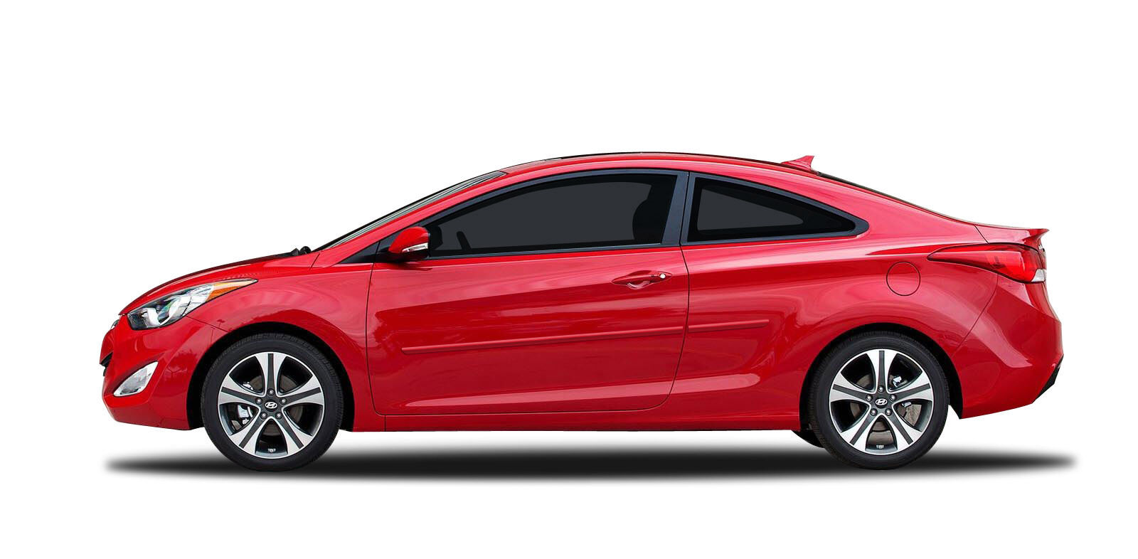 For Elantra Coupe Painted Body Side Mouldings Moldings 3m
