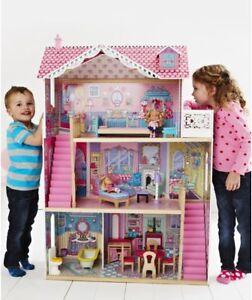 Elc Annabelle Wooden Dolls House Mansion Furniture
