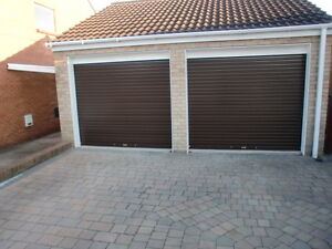 Electric roller shutter garage door 12ftwide x 7ft high ebay for 10 foot high garage door