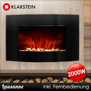 elektro heizung ofen kamin heizer radiator heizl fter wand led backlight feuer ebay. Black Bedroom Furniture Sets. Home Design Ideas
