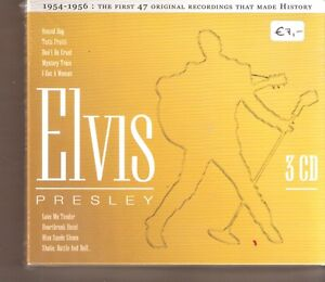 ELVIS-PRESLEY-1954-1956-3er-Box-New-OVP