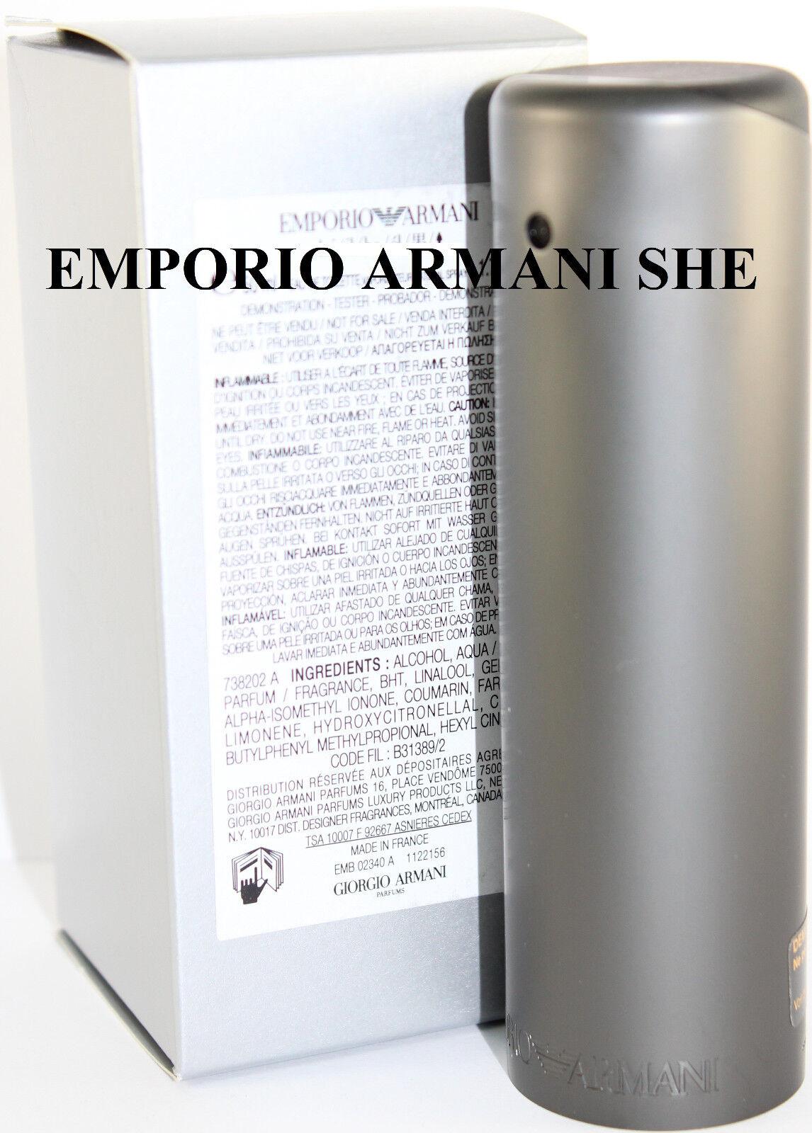 emporio armani she unbox 1 7 1 6 oz edp spray by giorgio. Black Bedroom Furniture Sets. Home Design Ideas