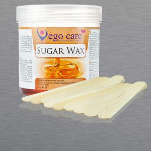 epilation set sugar wax zuckerpaste 300g holzspatel f r haarentfernung ebay. Black Bedroom Furniture Sets. Home Design Ideas
