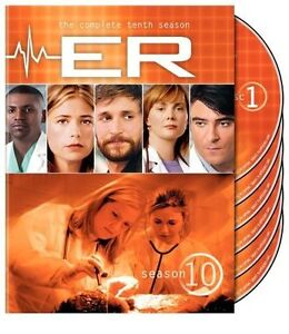 ER - The Complete Tenth Season (DVD, 200...