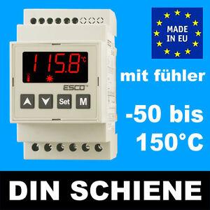 ES-10D-Hutschiene-Digital-TEMPERATURREGLER-Thermostat-Temperaturschalter-bis150C