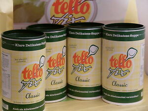 EUR-8-60-kg-tello-fix-kl-Delikat-Suppe-Allwuerzm-4-Dosen-a-900g-Glutenfrei