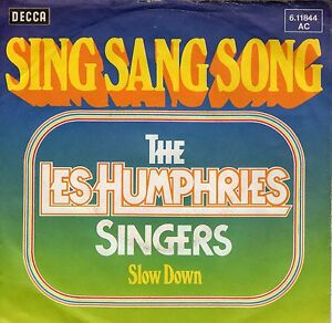 EUROVISIONsingle-1976-LES-HUMPHRIES-SINGERS-SING-SANG-SONG-7inch-45-Umin