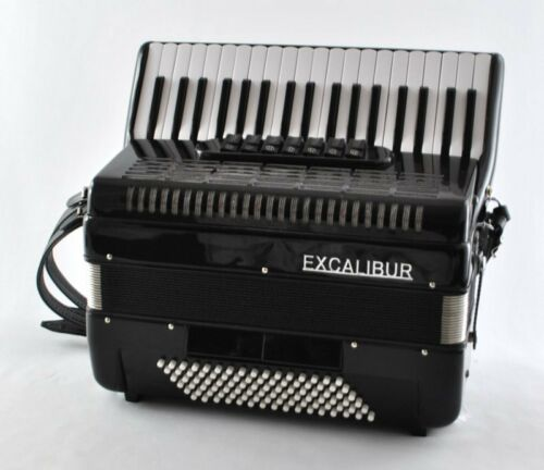 EXCALIBUR Super Classic 96 Bass Piano Accordion in Musical Instruments & Gear, Accordion & Concertina | eBay