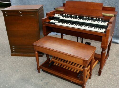EXCEPTIONAL HAMMOND B-2 ORGAN & LESLIE 122 122XB SPEAKER !! 3 C in Musical Instruments & Gear, Piano & Organ, Organ | eBay