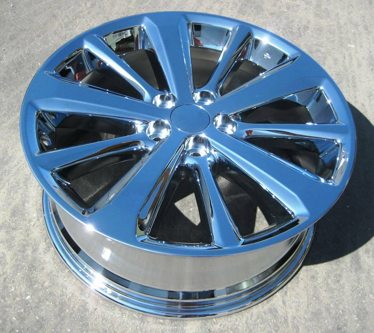 "Exchange Your Stock 4 19"" Factory Toyota Highlander Hybrid Chrome Wheels Rims"