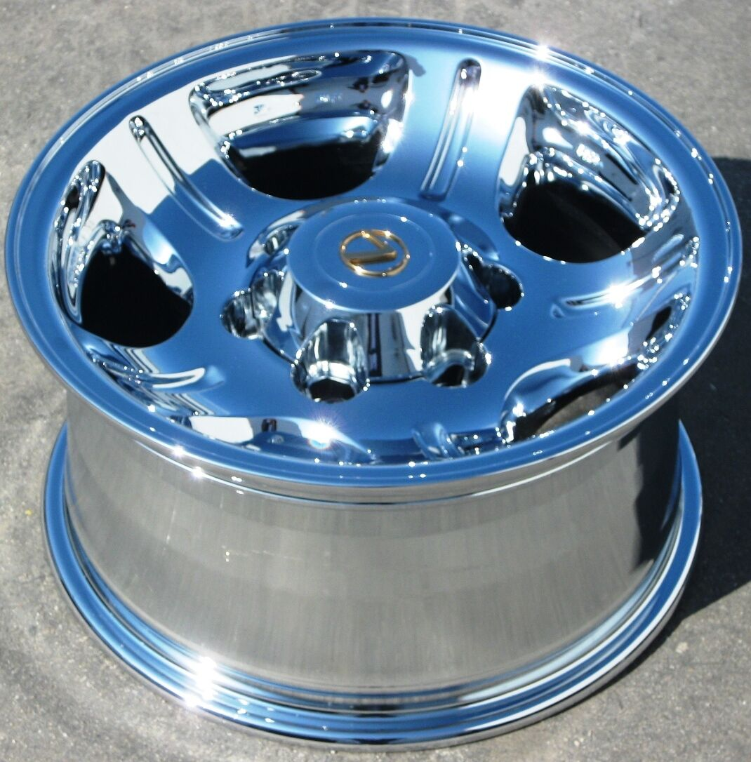 Your Stock 4 New 16 Factory Lexus LX450 Chrome Wheels Rims