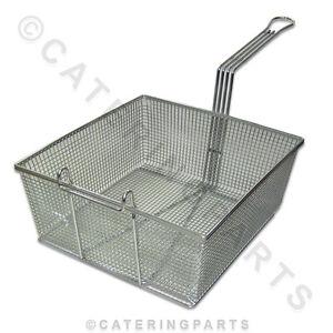 Extra large deep fat fryer frying baskets 330 x 310 x 135 for Fish fryer basket