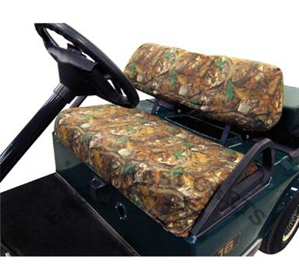 ezgo club car golf cart camo seat cover slip on camouflage seat cover set ebay. Black Bedroom Furniture Sets. Home Design Ideas