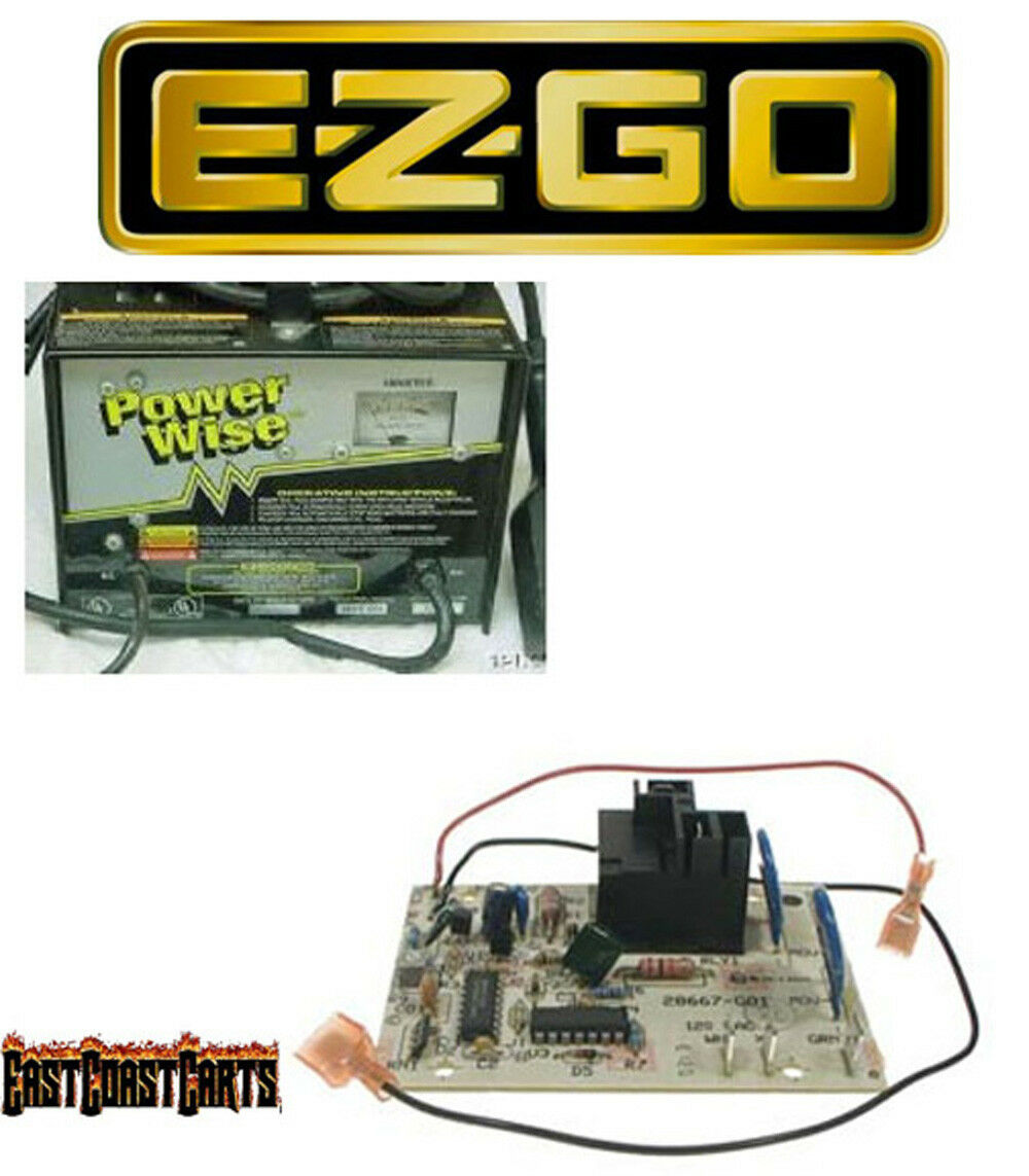 Ezgo 36v Powerwise Charger Control Timer Board New 28667