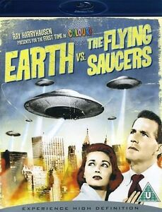 Earth Vs. the Flying Saucers (Blu-ray Di...