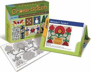 Cross-Stitch Pattern a Day: 2010 Day-to-Day Calendar by