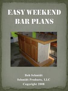 Free Bar Plans - Wet Bar - Plans and Construction Tips, Standing Bar