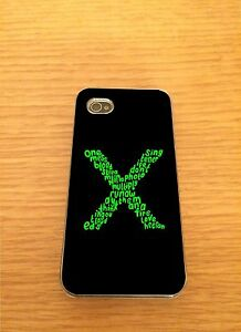 Ed-Sheeran-X-Liedtext-Iphone-Hartschale-Case-Passt-4-4s-5-5s-5c-6-6