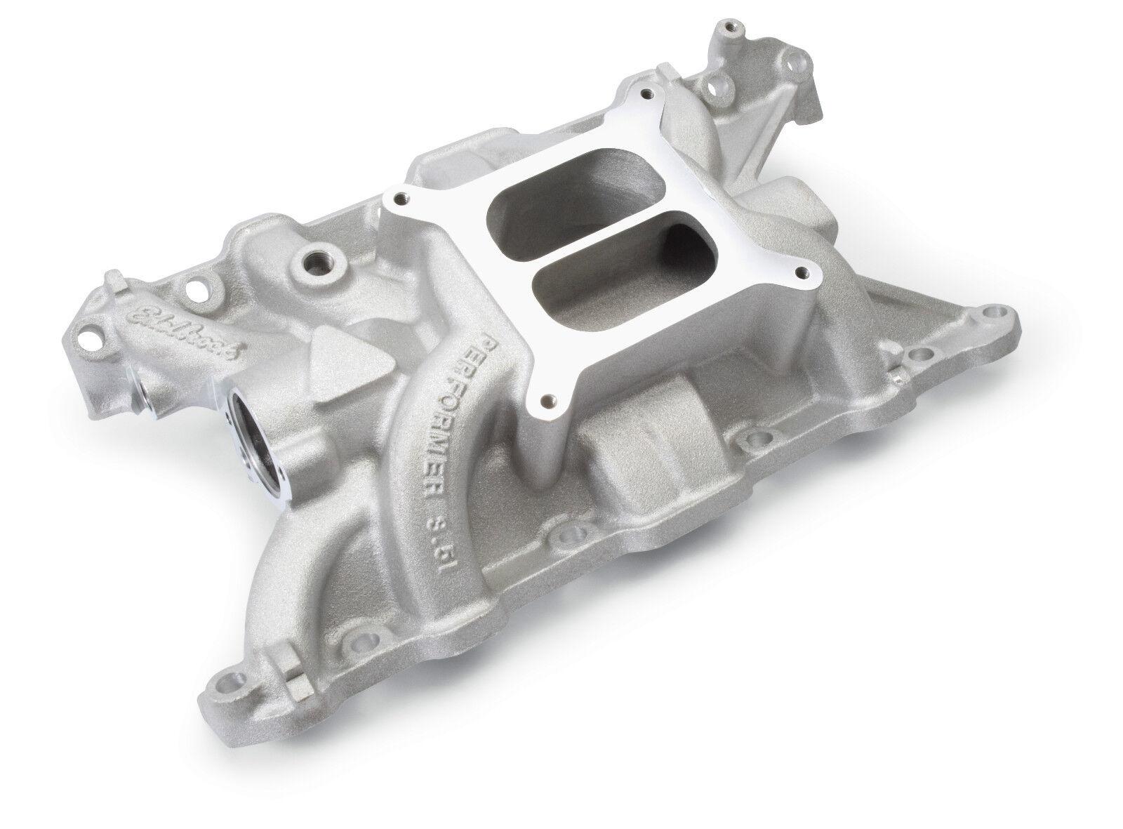 V8 Intake Manifold : Edelbrock buick rover v performer aluminum