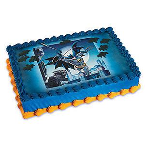 Batman Kit Sheet Cakes