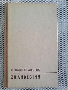 Eduard-Claudius-Zu-Anbeginn-ERSTAUSGABE-von-1950