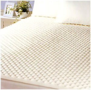 Memory Foam Mattress Topper Egg Crate King Single Size