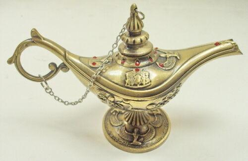 Egyptian decorative Brass Aladdin Lantern Lamp Scarab Isis hieroglyphic Egypt in Antiques, Antiquities, Egyptian | eBay