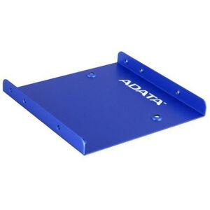 Einbaurahmen-ADATA-SSD-Adapterplatte-fuer-den-Einbau-einer-2-5-Festplatte-blau