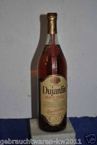 Eine flasche dujardin imperial vsop 1 liter ebay for Dujardin imperial