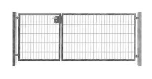 einfahrtstor 350cm x 103cm 2 fl gelig asymmetrisch. Black Bedroom Furniture Sets. Home Design Ideas