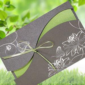 einladungskarten hochzeit fe01e mit umschlag hochzeitseinladungskarten ebay. Black Bedroom Furniture Sets. Home Design Ideas