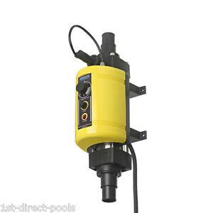 Elecro Nano Plug Play 3kw Electric Pool Heater Ebay