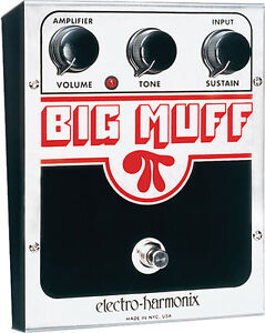 Electro-Harmonix Big Muff Pi Distortion ...