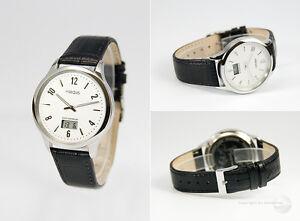 Elegante-Herren-Funkarmbanduhr-deutsches-Funkwerk-Armbanduhr-Leder-964-4718-78