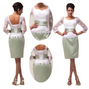 Elegante spitze ballkleider abendkleid partykleid cocktail kurz kleider ebay - Elegante kleider kurz ...