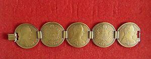Elegantes-Muenzen-Armband-in-persisch-gold-ungetragen