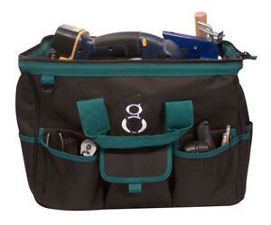 Elektrikers-Werkzeugtasche-Grosser-Organisator-18-Taschen-Fuer-Installateurarbeit