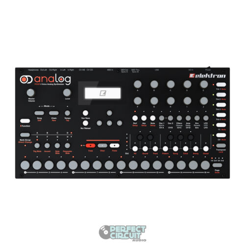 Elektron Analog Four 4 Voice Analog Synthesizer! BRAND NEW! AUTHORIZED DEALER! in Musical Instruments & Gear, Electronic Instruments, Synthesizers | eBay