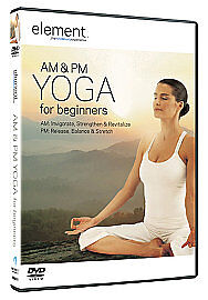 Element - AM And PM Yoga (DVD, 2009)